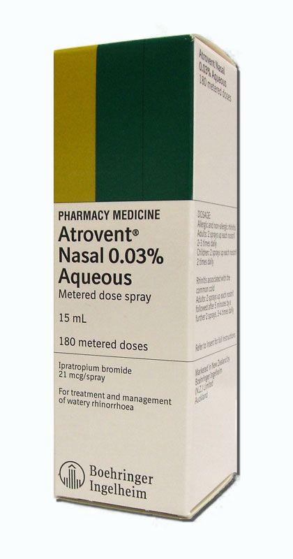 ipratropium bromide nasal spray 0.03