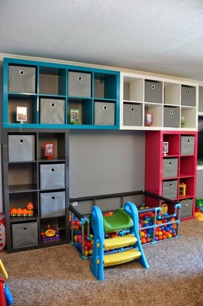 Playroom Storage Solutions Best Daycare Storage Ideas On Daycare Ideas For Playroom Organization Furniture Playroom Stora Ikea Kids Playroom Toy Rooms Boy Room