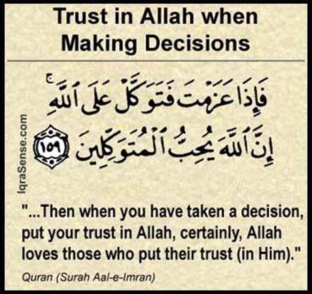 #TrustinAllah