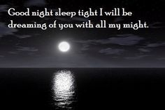 Cute good night quotes & messages for her/him   SayingImages.com