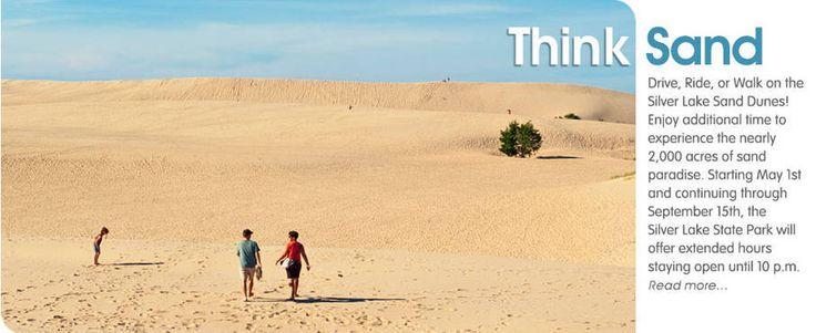 Silver Lake Sand Dunes, Silver Lake Michigan Hart, Mears, Pentwater - Silver Lake Sand Dunes Area