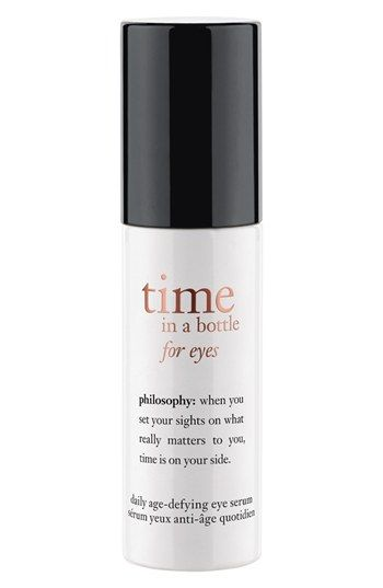 philosophy 'time in a bottle for eyes' daily age-defying eye serum available at #Nordstrom