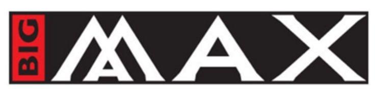 Big Max golf, trolley and bags, logo