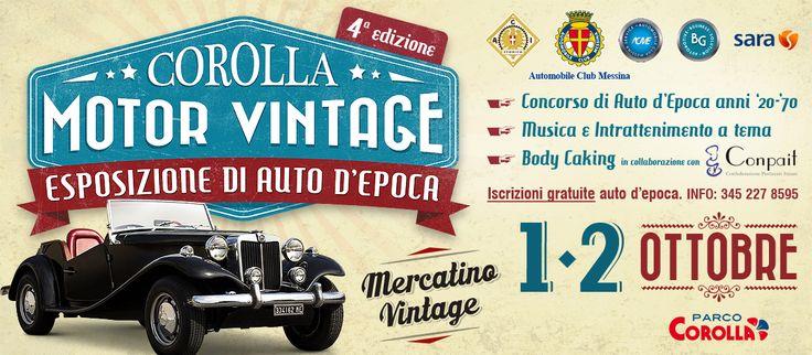 Corolla Motor Vintage - 4^ edizione - Eventi Parco Corolla
