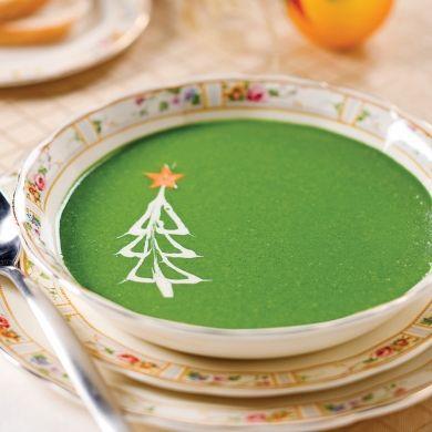 Velouté aux asperges et épinards - Recettes - Cuisine et nutrition - Pratico Pratique
