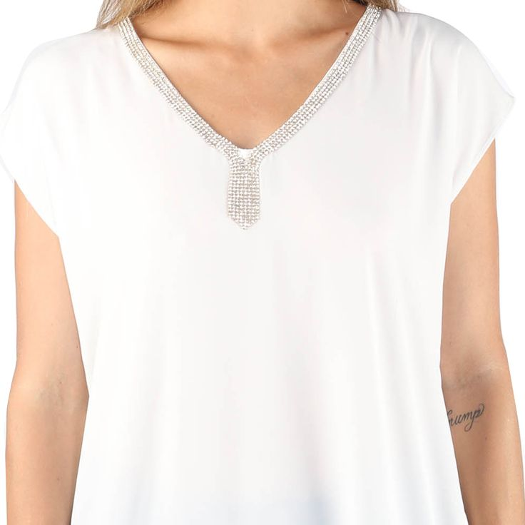 Hadari Woman's High Low Shirt