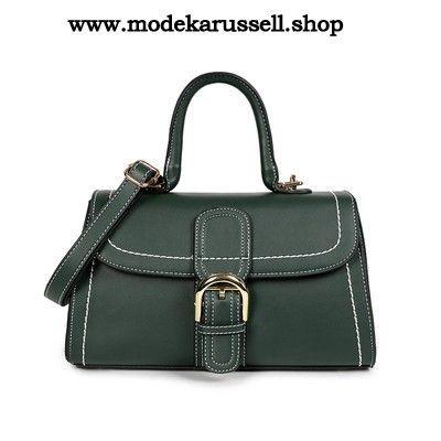 PU Handtasche Schulter Tasche in Grün