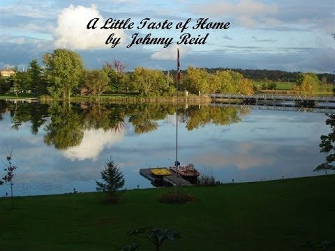 A Little taste of Home Johnny Reid ( Lyrics) - YouTube