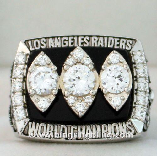 NFL 1983 Los Angeles Raiders Super Bowl Championship Ring OWNER AL DAVIS