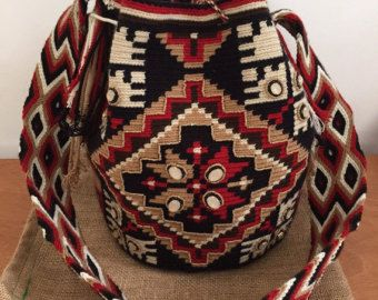 Wayuu Bags Multicolor by WayuuLoveUSA on Etsy