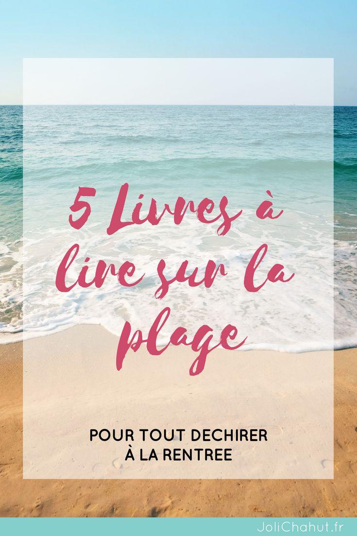 5 livres à lire sur la plage pour tout déchirer à la rentrée ! Je te livres une sélection écolo, minimaliste et pleine de positive attitude ! Avec ça, j'en suis sûre tu pourras repartir du bon pied !