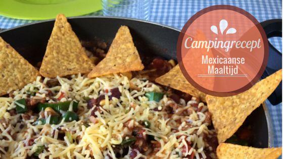 Campingrecept - Mexicaanse Maaltijd
