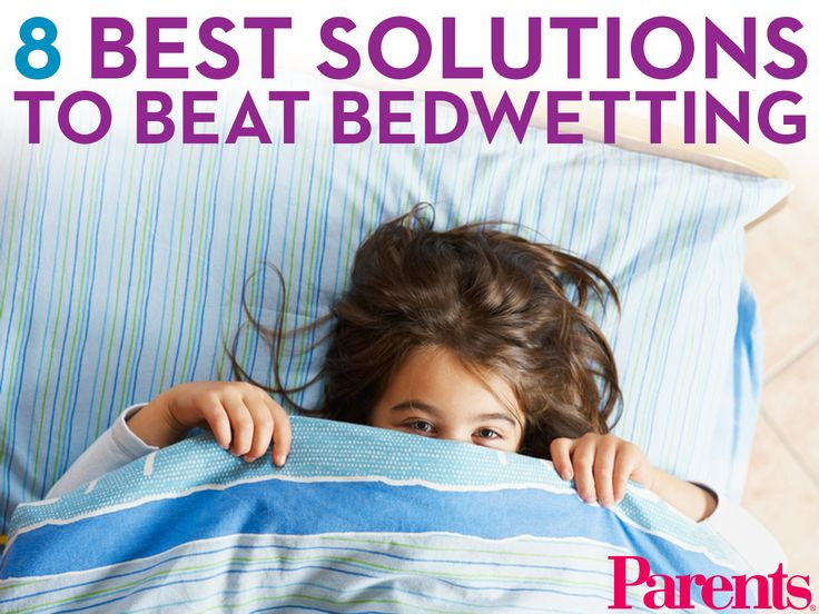 how to stop a child from wetting the bed