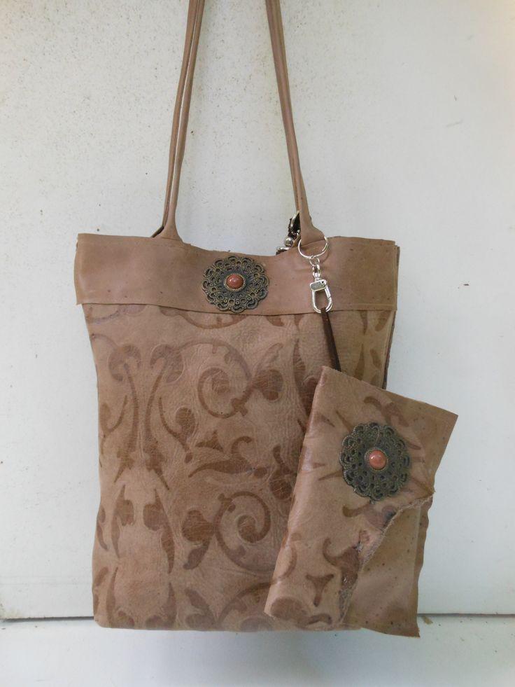 Handgemaakte Tas Leer : Beste afbeeldingen van handtassen bags bont doe het