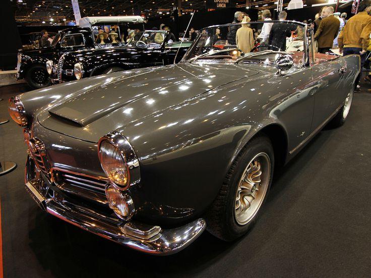 Alfa Romeo 2600 Spider : Rétromobile 2014 : les plus belles voitures de collection - Linternaute.com Automobile