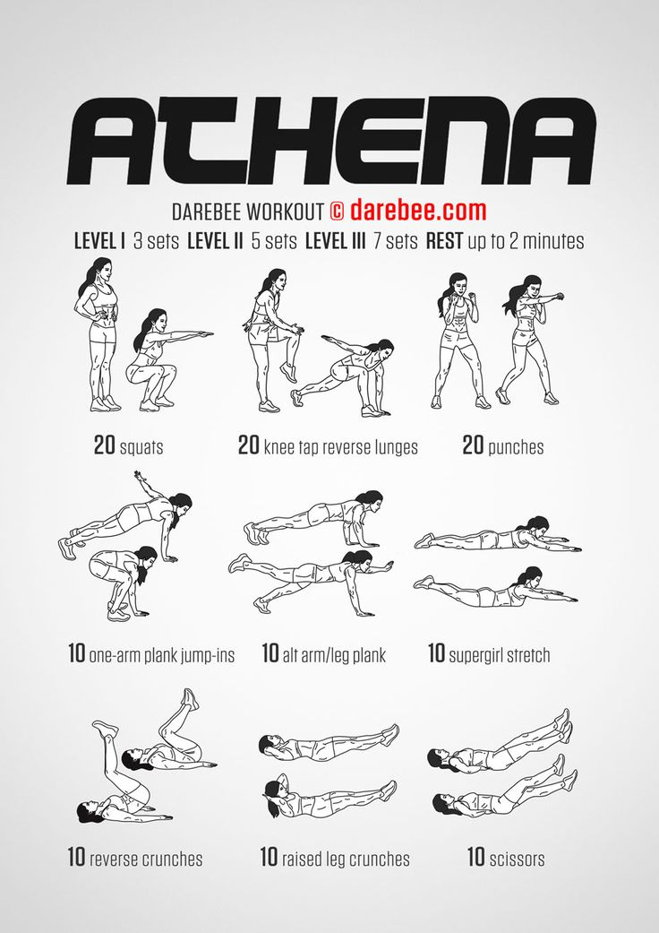 Athena Workout - New Darebee codename for Wonder Woman workout (since stupid WB trademark stuff)