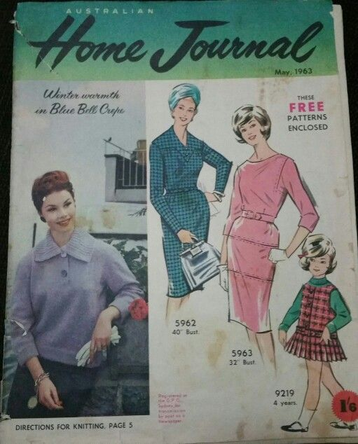 Australian home journal May 1963 cover