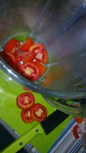 Can you smell the great vit C on tomatoes? :)