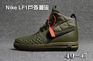 246ed14dbc04 Mens Nike Lunar Force 1 Duckboot 17 KPU Army Green Black 922807 701 Running  Shoes