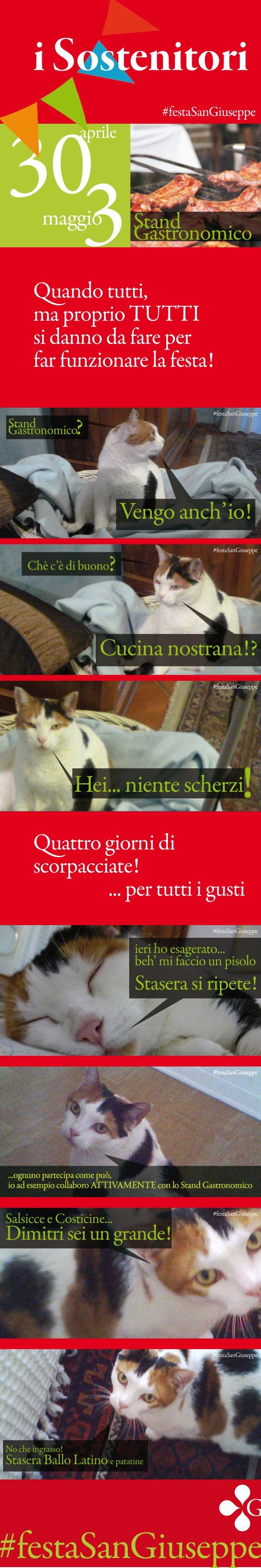 Tutti sono i benvenuti alla #festaSanGiuseppe di Vicenza. Tutti i tipi di collaborazione sono ben accolti, soprattutto quelli di natura mangereccia! Tu cosa hai mangiato e bevuto? https://www.facebook.com/profile.php?id=100009317781363