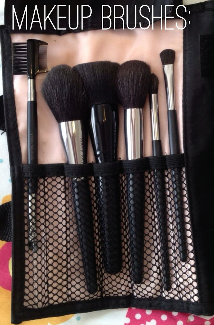 My Mary Kay makeup brushes. As a Mary Kay beauty consultant I can help you, please let me know what you would like or need. www.marykay.com/KathleenJohnson  www.facebook.com/KathysDaySpa Www.marykay.com/jsargeant