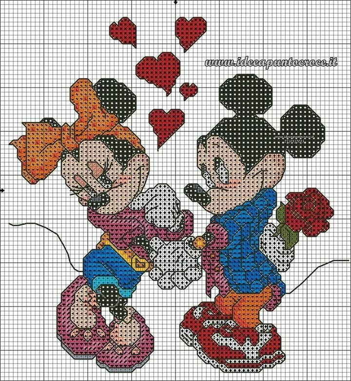 Mickey & Minnie Valentine 1 of 2