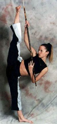 chole bruce amazing flexibility   Chloe Bruce on European Cup