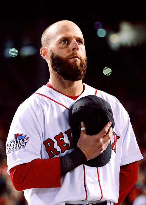 Dustin Pedroia Boston Red Sox Game 1 World Series 2013