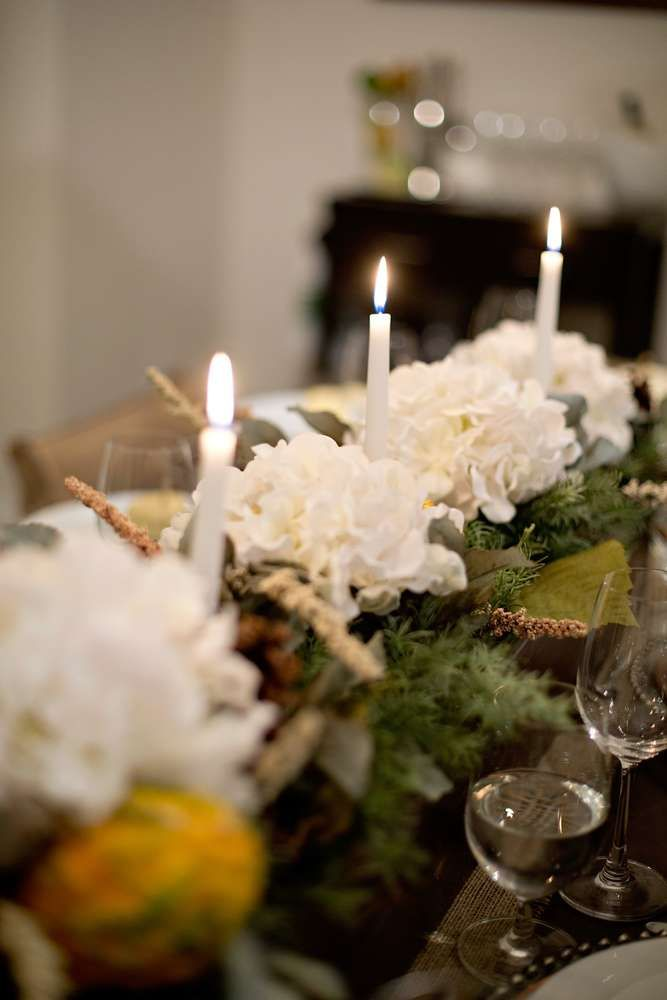 Elegant Table At A Thanksgiving Party! See More Party Planning Ideas At  CatchMyParty.com Part 76