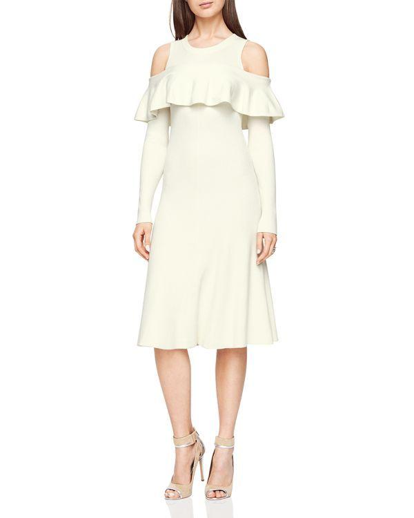 Bcbgmaxazria Carol Ann Cold-Shoulder Dress