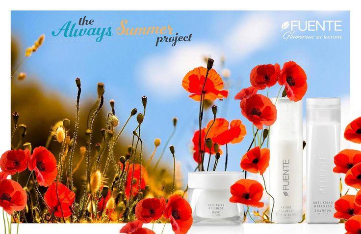 Toglietemi tutto, ma non i miei prodotti Fuente Antiaging! Con i loro estratti organici, vitamine degli agrumi e filtri solari, in vacanza sono i migliori alleati per proteggere i nostri capelli dai dannosi raggi UV.