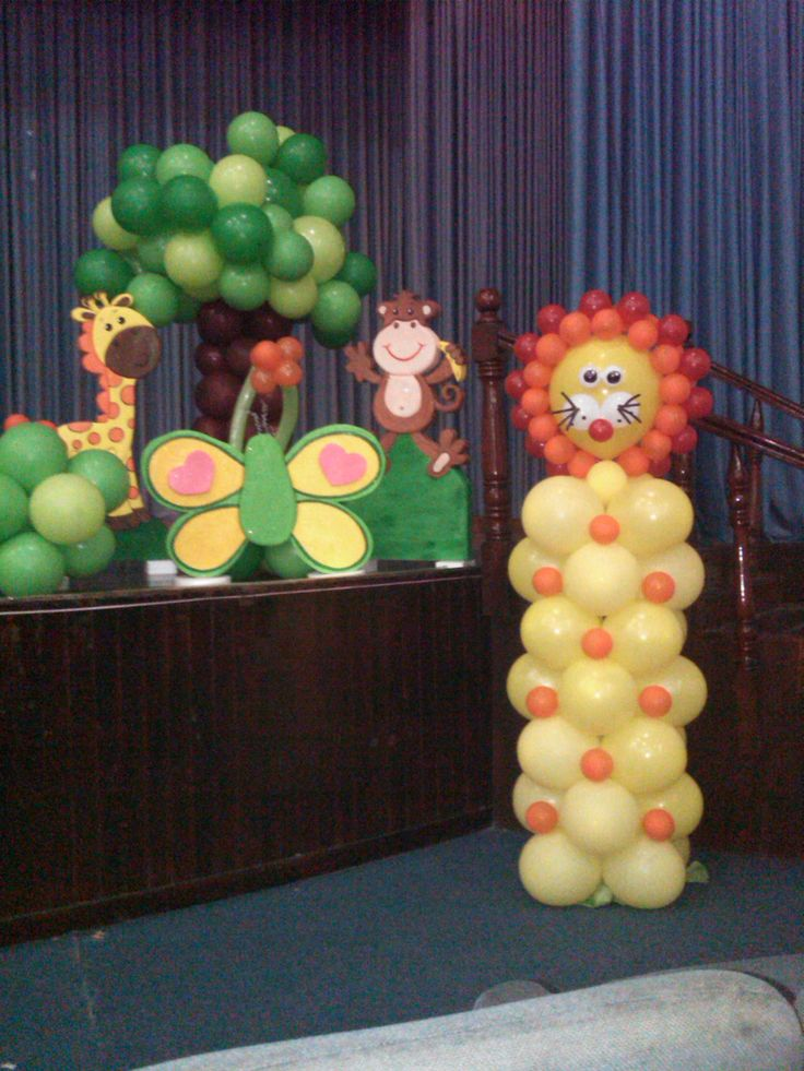 42 best mis decoraciones de fiesta infantil images on - Decoraciones jardines ...