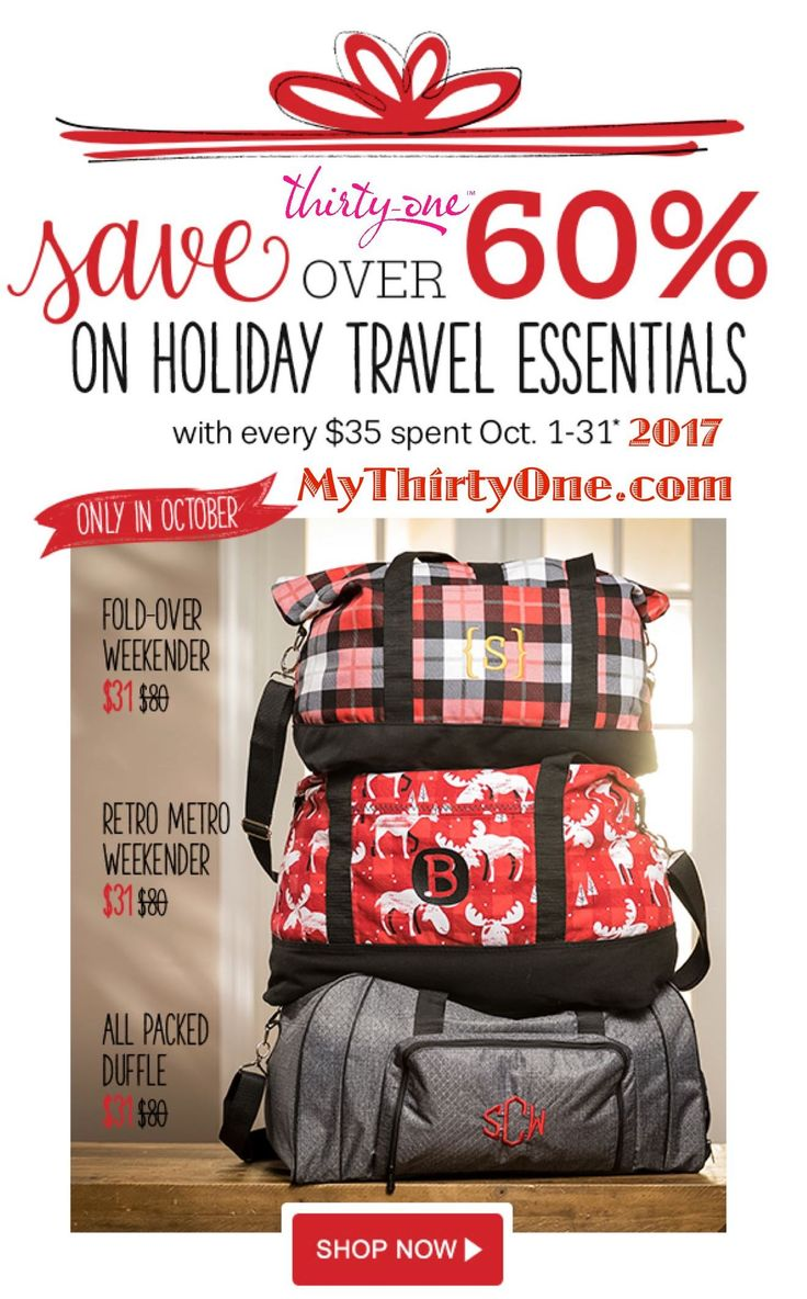 Thirty one november customer special 2014 - October 2017 Thirty One Gifts Customer Special It S A Great Month To