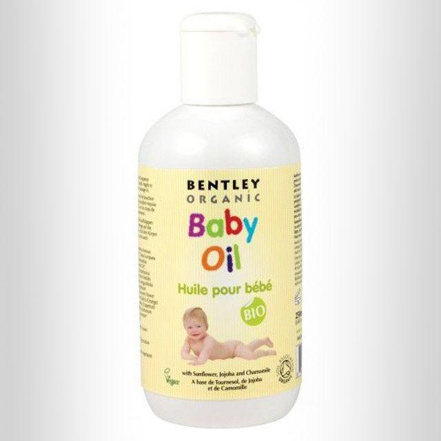 Dziecięcy olejek pielęgnacyjny z wyciągiem ze słonecznika, jojoby i rumianku / Bentley Organic blubalon.pl