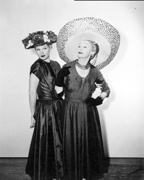 Lucille Ball and Hedda Hopper were life long friends