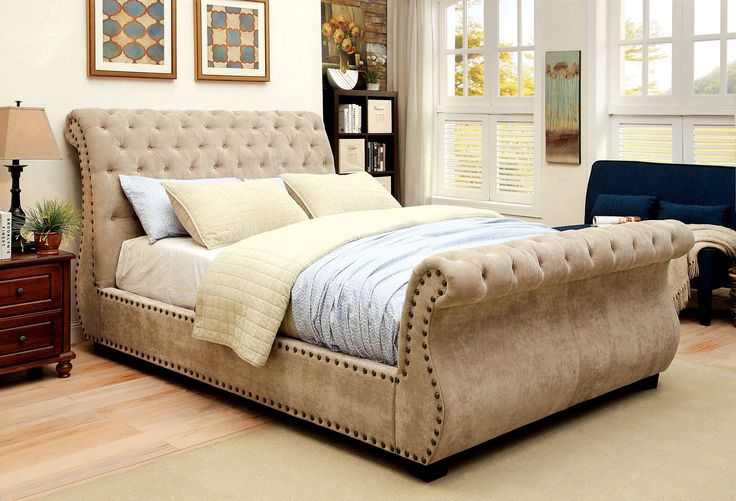 Ashby Transitional Sleigh Bed