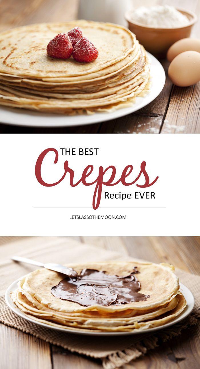 Deutsche Pfannkuchen: Best Crepes Recipe EVER *Saving this breakfast recipe for later!
