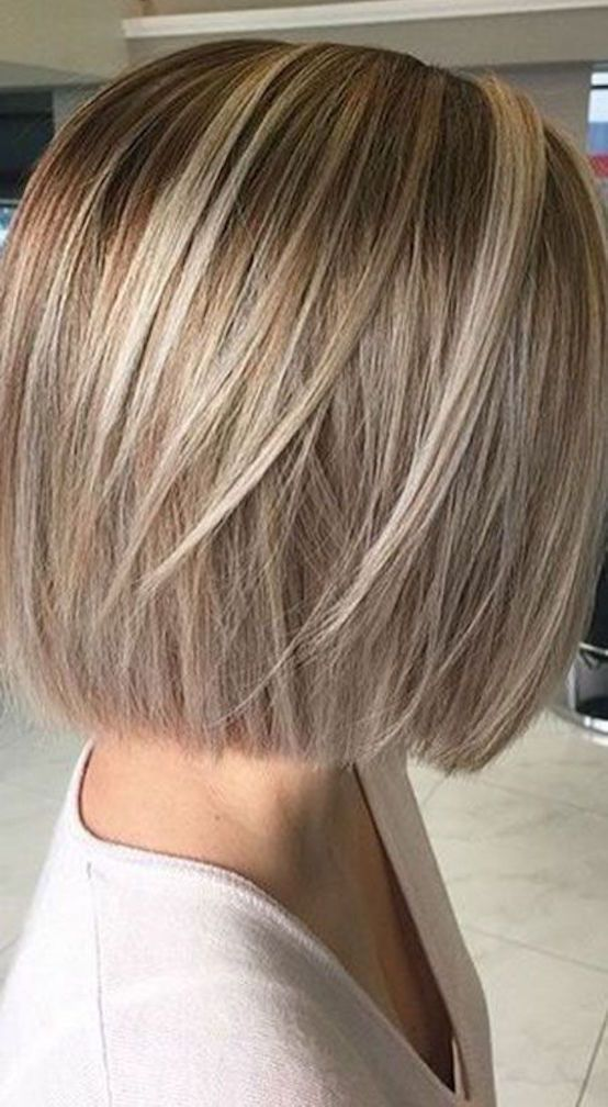 21 kurze Frisuren für glattes Haar zu versuchen