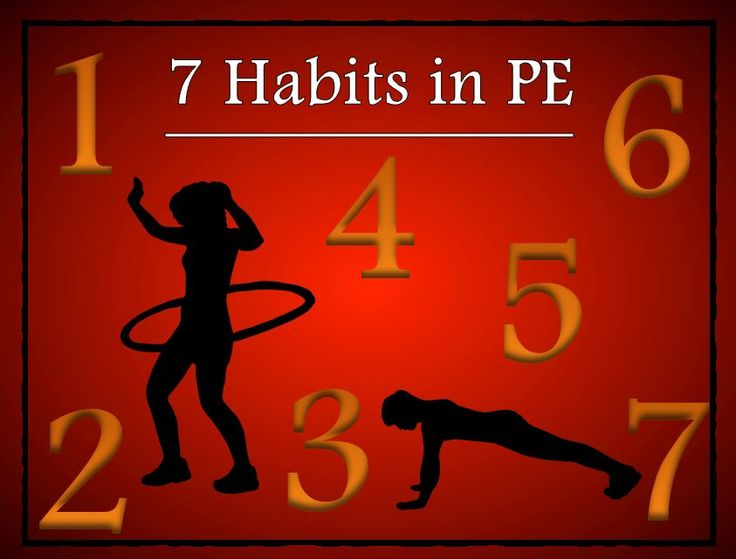 Best Pe  Habits In Physical Education Images On