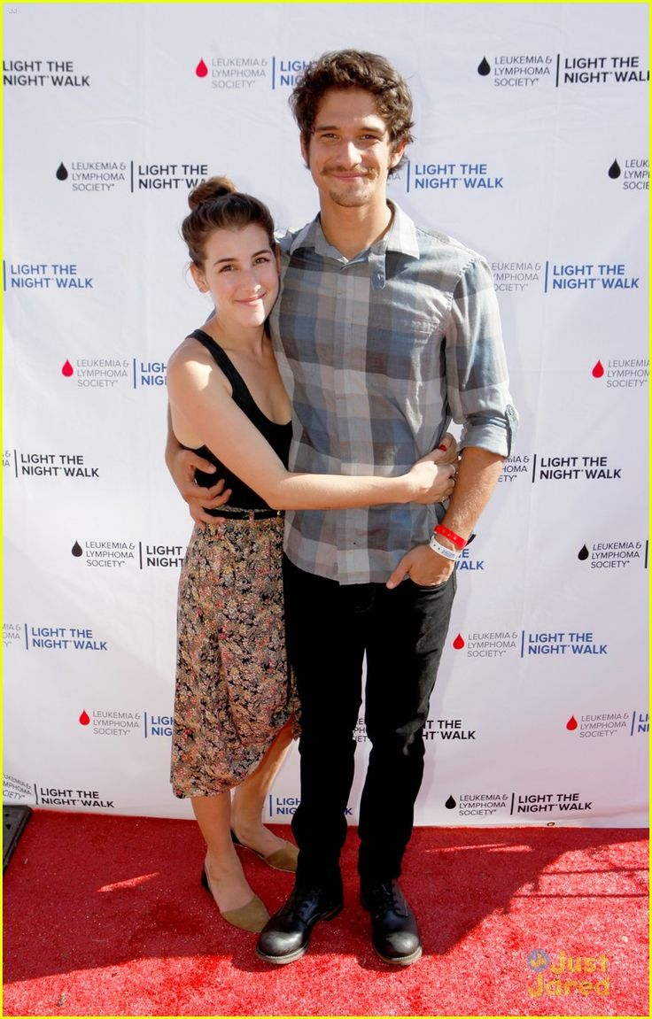 Tyler Posey & Fiancee Seana Gorlick at Variety's 2013 Power of Youth