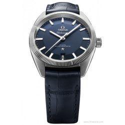 Omega Globemaster blue pie pan dial 130.33.39.21.03.001