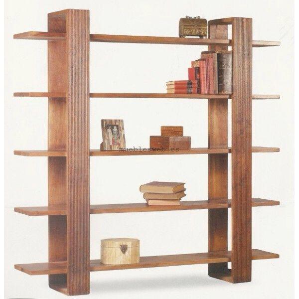 M s de 25 ideas incre bles sobre repisas de madera - Muebles para trasteros ...