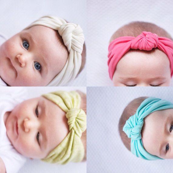 Spring Baby Headbands! // Mama Owl Shop