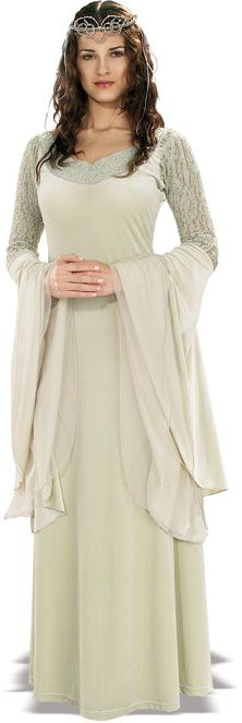 Lord of the Rings Deluxe Teen Queen Arwen Costume - Official Superhero Costumes - Lord of the Rings Costume