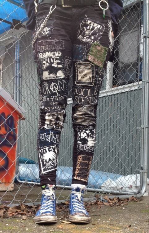 crusty pants. These are cool looking, I really like them especially with the blue converse