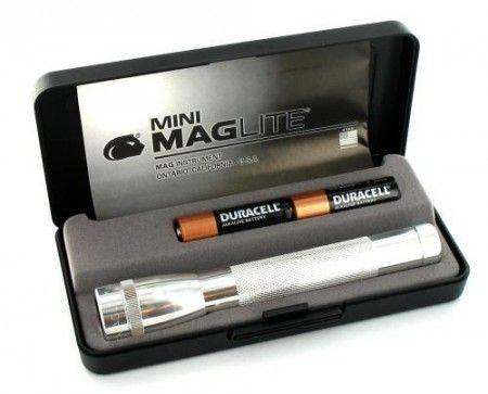 Lampe Maglite Mini R6 Argent