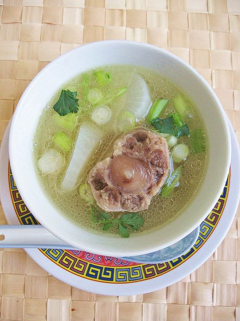Oxtail and Daikon Soup