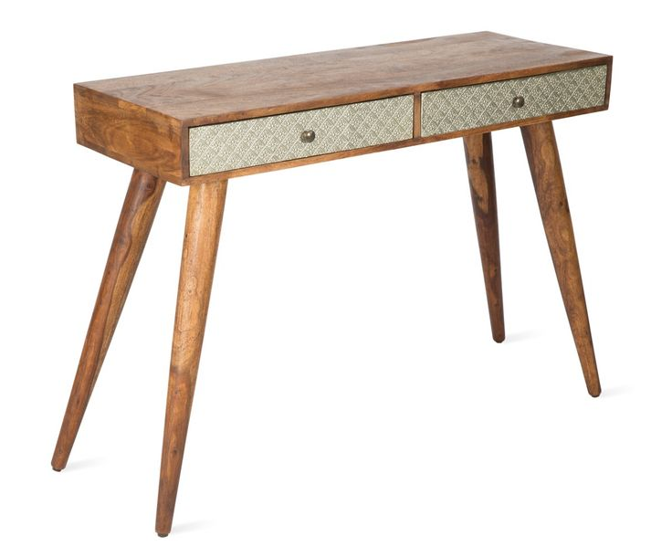 Funky retro, wood and metal console