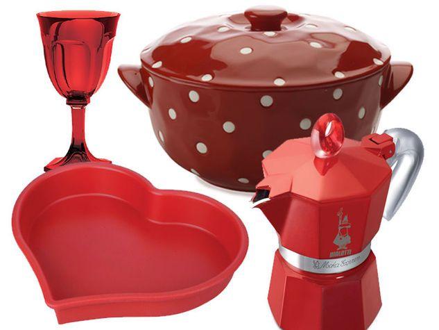★ Fiery Red ★ Una cucina in rosso