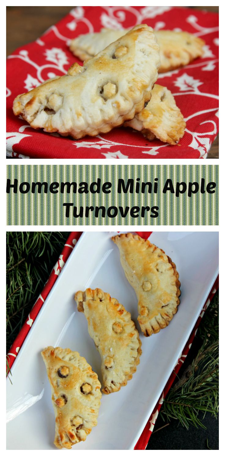 I love to take a break from the craziness of the day with a cup of coffee and one of my homemade mini apple turnovers. It is a fun twist on a traditional easy apple pie recipe!
